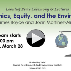 Leontief Prize 2017: Economics, Equity, and the Environment