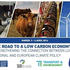 Madrid: Civil Society Workshop – The road to a low carbon economy