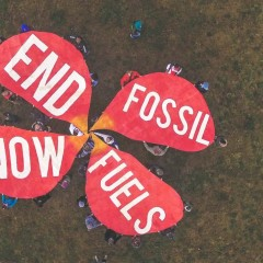 (English) 350.org live broadcast on new Fossil Free campaign